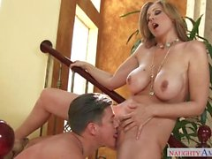 Step Mom Julia Ann Fucks Daughters Boy