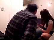 Three way Sex with a hairy Asian teen