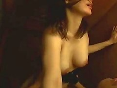 Busty Girl In Skirt Getting Her Pussy Fucked Giving Blowjob Cum To Mouth In The Wardrobe