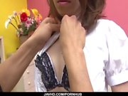 Japan maid, Nao Kojima, craves for her masterґs dick