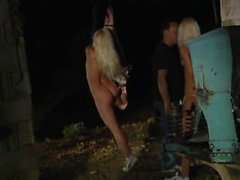 Two Blondes Enslaved