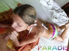 Paradise Gfs - Shooting and fucking hot Russian model in Paradise - Day 3