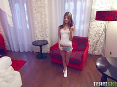 Russian babe Gina Gerson is a sex addict