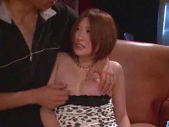Ruri Haruka Asian milf desires cock in her wet fanny