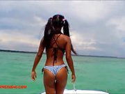 Heather deep goes out skinny dipping with new girlfriend and