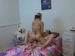 Big Tits Virgin Sister Having Fun With Her Fr