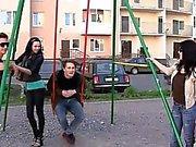 Non-stop gang-bang with harlots