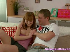 Teen Couple Spices Things Up With A Dildo