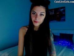 Jasmin Beautiful Camgirl Rubbing Part 1