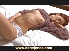 DaneJones Real orgasms for Sexy redhead girl