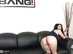 BANG Casting - Yhivi fucked rough & takes a load to the face