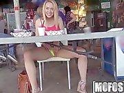 Mofos - Titty flashing makes the bar fun