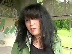 Laila fucked outdoor