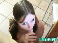German teen nailed in the kitchen Aimee from dates25com