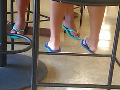 New Friend's Candid Beautiful Feet 5