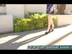 Allie naturally beautiful teen shopping cute dress