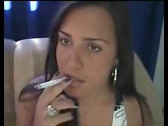 Smoking fetish Morena