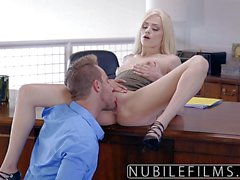 Elsa Jean needs sex at work