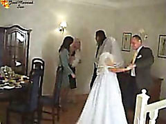 Drunken bride fuck