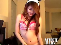 Dancing Webcam Redhead