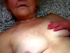 Teen and grandma masturbate