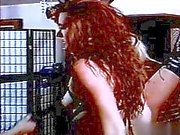 Hot cowgirl fucked at work