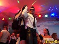 Cfnm teens ride strippers