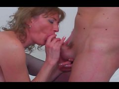 Hot milf and her younger lover 985