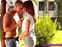 Banged dutch teen throats