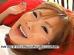 Busty japanese girl is a naughty girl who likes hard fucking