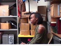 ShopLyfter - Cute Ebony Teen Recorded Store Fuck
