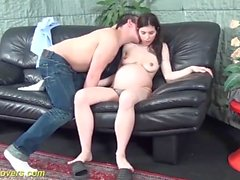hairy pregnant teen having sex