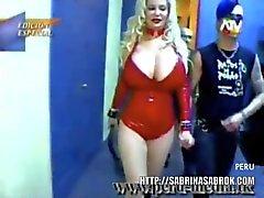 Sabrina Sabrok Largest Breast Rock Singer
