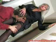 young guy fuck adult woman