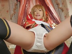 Japanese Panty Masturbation And Peeing Orgasm