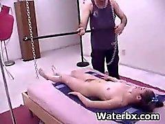 Nasty Butt Woman Pervert Enema Pissing