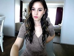 Amateur Nerd Webcam Striptease Unseen Video