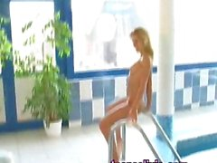 Helena Sweet Teen photoshot beind the scene