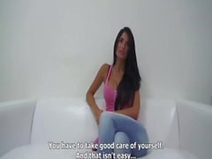 Beautiful Nessa Casting-Get more girls like this on casting-couch