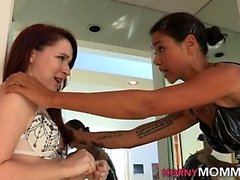 Stepmom dominates teen