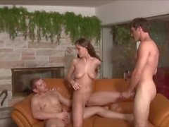 Step Daughter Fucked by Step Father & Brother - Molly Jane - Family Therapy