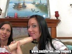 Cock For Two - Veronica Jett Vs Nadia Nitro