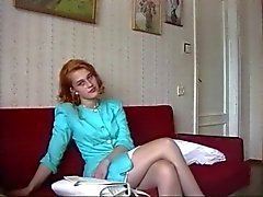 Redhead Teen Fucked In The Pussy And Ass