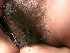 Randy Asian babe gets her pussy licked out fine