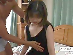 Uncensored Japanese amateur stripped and fingered Subtitled