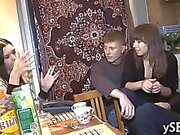 Group session discloses dirty nature of 2 very horny bitches
