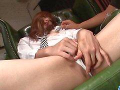 Luscious Mami Yuuki craves to suck on this big dick