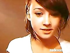 Amateur teen on webcam