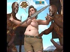 3D comic: Neue Rasse 5-7