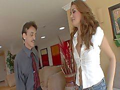 Allie haze fucked hard on that twat by an older dude